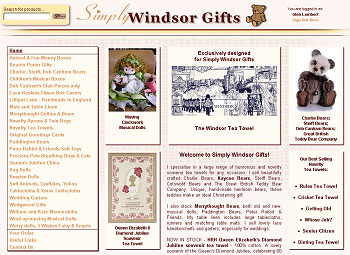 Simply Windsor Gifts for Teddies, gifts and novelty tea towels